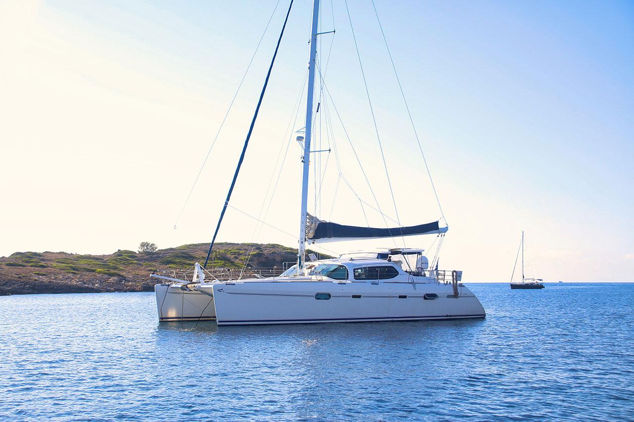 catamaran sailing love